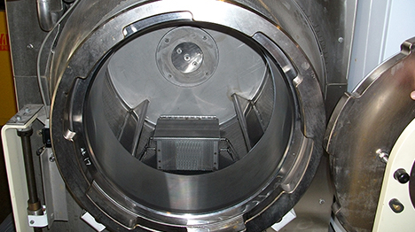 Enertia Liquid CO2 Cleaning Wash Vessel