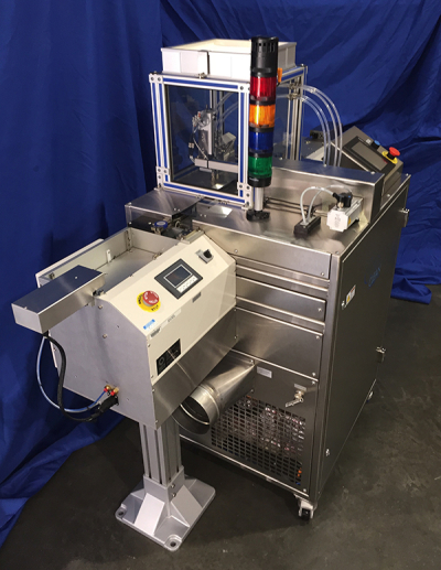 Automated CO2 Technology in a Cleaning Cell