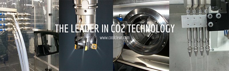CO2 Cleaning, Dry Machining, CO2 Extraction Banner