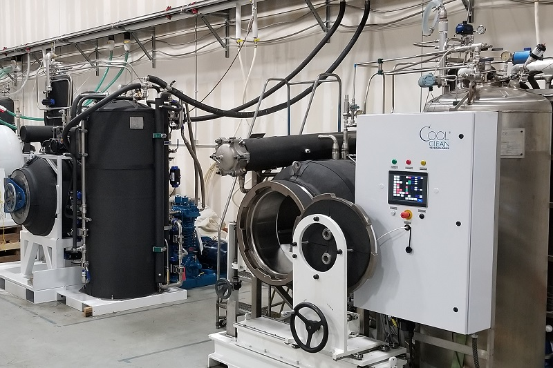 Cold CO2 Extraction Equipment for Processing